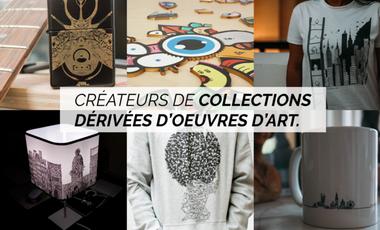 Visueel van project Artgile : créateurs de collections artistiques...
