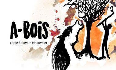 Project visual A·BOIS - Conte équestre et forestier