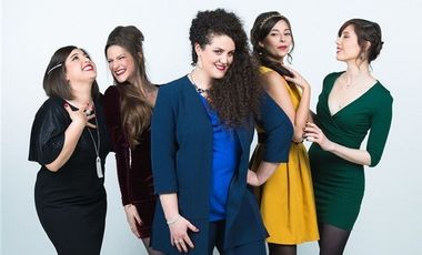 Visueel van project Auto-Production du Quintette feminin a cappella : Les Soulmates