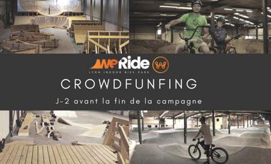 Project visual WeRide : votre Bike Park Indoor à Lyon