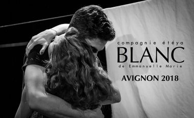 Visueel van project BLANC / Avignon 2018