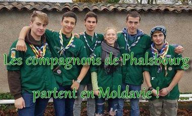 Visuel du projet Les Compagnons de Phalsbourg partent en Moldavie !