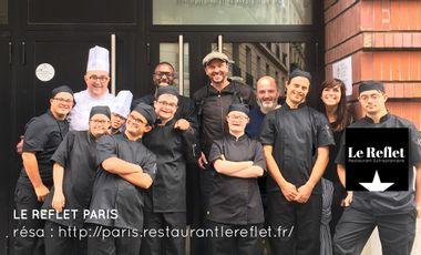 Visueel van project Le Reflet Paris // Restaurant Extraordinaire