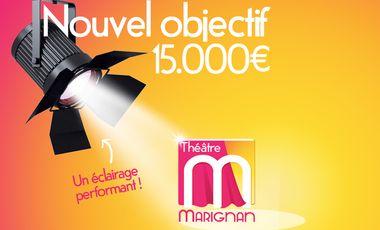 Project visual Théâtre Marignan