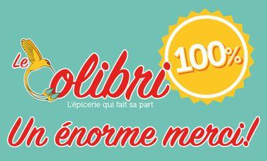 Visueel van project Le Colibri - épicerie à objectif zéro déchet