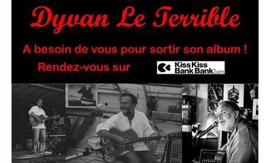 Visuel du projet Aidez Dyvan Le Terrible à sortir son nouvel album !