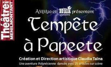 Project visual Tempête à Papeete