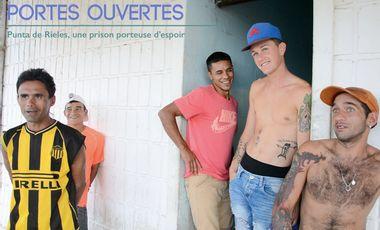 """Visueel van project """"PORTES OUVERTES"""" Punta de Rieles, une prison porteuse d'espoir"""