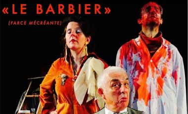 "Visueel van project ""LE BARBIER (farce mécréante)"" / Chalon 2018!"
