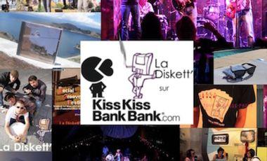 Visuel du projet La Diskett' : 10 ans et un label ça se fête !