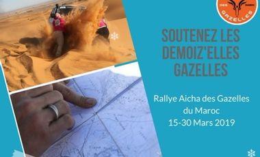 Visueel van project Les Demoiz'elles Gazelles : Rallye Aicha des Gazelles du Maroc 2019