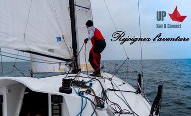 Visueel van project Arthur avec UP Sail & Connect