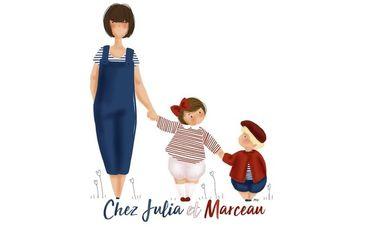 """Visueel van project Une boutique éphémère pour """"Chez Julia et Marceau"""""""