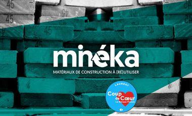 Visueel van project Minéka, Matériaux de construction à (ré)utiliser