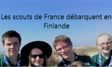 Visueel van project Les scouts de France débarquent en Finlande