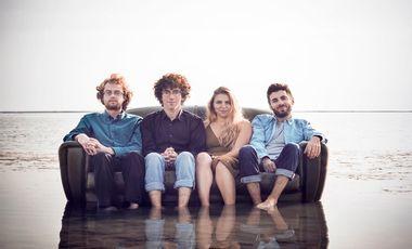Visueel van project Enregistrement du premier album du Naïma Quartet