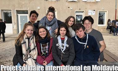 Project visual Projet de solidarité internationale en Moldavie