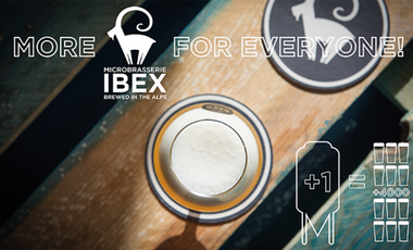 Visueel van project Plus de bière Ibex pour tous -  More Ibex beer for everyone!