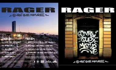 "Project visual Vinyles Rager ""+vrai que mature"""