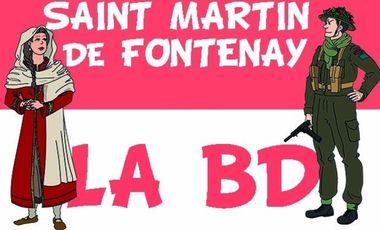 Visueel van project Saint Martin de Fontenay, la BD