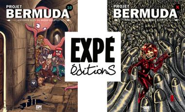 Project visual Projet Bermuda 10 et X, recueils d'histoires plus ou moins courtes en BD !