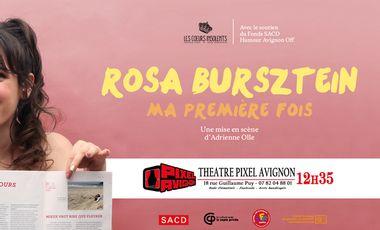 Project visual Ma Première Fois au Festival d'Avignon!
