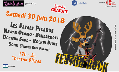 Project visual Festho'Rock 2018
