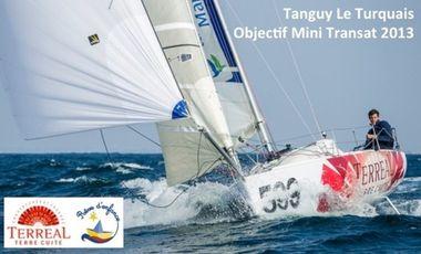 Project visual Soutenez Tanguy Le Turquais sur la Mini Transat 2013