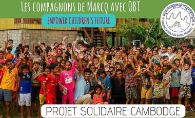 Visuel du projet Mission CAMBODGE 2018 - Compagnons de Marcq en Baroeul