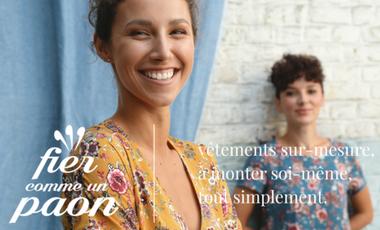 Visueel van project Devenez fier comme un paon : faites vous-même vos vêtements sur mesure