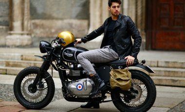 Visuel du projet Monsieur Cam - vintage clothes and bikes.