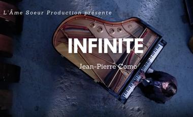 Visuel du projet Jean-Pierre Como création du CD Infinite