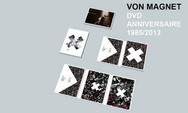 Project visual DVD ANNIVERSAIRE VON MAGNET (1985/2013)