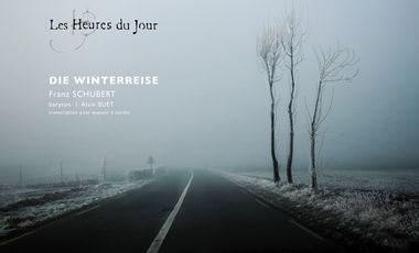 Visuel du projet CD Winterreise, transcription pour quatuor et baryton/ Les Heures du jour