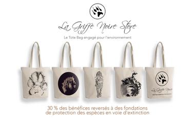 Project visual La Griffe Noire Store, le Tote Bag engagé pour l'environnement