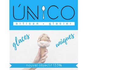 Project visual Único Artisan (un vrai!) Glacier a besoin de votre soutien !