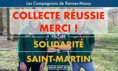 Project visual Projet solidaire des Compagnons de Rennes-Val d'Orge à Saint-Martin