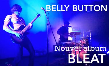 Visueel van project Belly Button, nouvel album Bleat, limité à 500 ex.