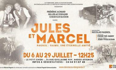 """Visueel van project """"Jules et Marcel"""" en route pour Avignon"""