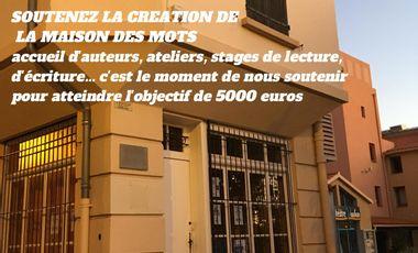 Project visual La Maison des Mots, un lieu ouvert à tous pour lire, écrire, découvrir,partager
