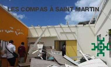 Visuel du projet Saint Martin après Irma : Chantier solidaire !