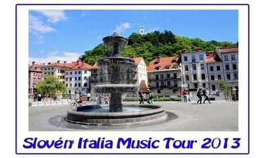 Visueel van project Slovén'Italia Music Tour 2013