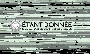 Visuel du projet Etant donnée