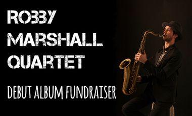 """Visuel du projet """"Little Victories"""" - premier album de Robby Marshall Quartet"""