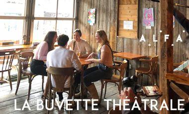 Project visual La buvette théâtrale