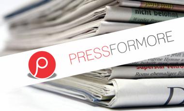 Project visual Réinventez le journalisme: Pressformore