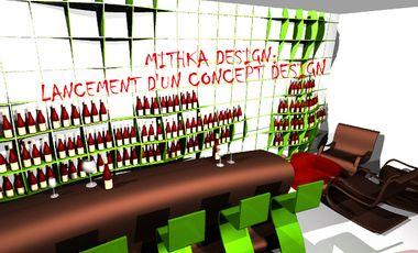 Visueel van project MITHKA DESIGN: LANCEMENT D'UN CONCEPT DESIGN