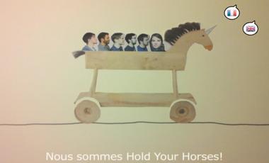 Visuel du projet Hold Your Horses - First album