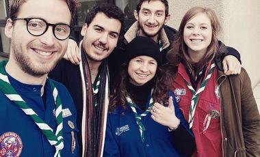 Project visual Les Pous'cinq en Bulgarie - projet solidaire JADE SGDF