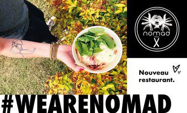 Visueel van project Un nouveau restaurant NOMAD à Dijon #WEARENOMAD